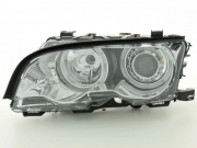 Angel Eyes lampy  BMW 3 Coupe (Typ E46) 98-01 chrome