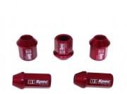 D1 Spec Light Weight Wheel Nuts 1.25 Red