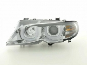 Angel Eyes 3D lampy BMW 3 E46 Limo/Touring r. 02-05 chrome