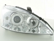 Angel Eyes lampy Ford Focus 01-02 chrome