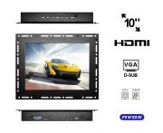 "Monitor open frame LED 10"" VGA HDMI 12V 230V"