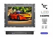 "Monitor open frame LED 12"" VGA HDMI 12V 230V"