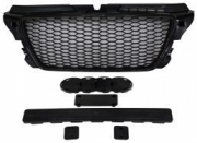GRILL AUDI A3 8P RS-STYLE CHROMED BLACK (09-12) PDC